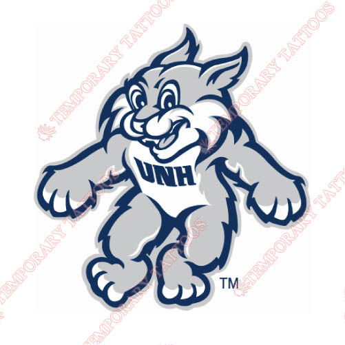 New Hampshire Wildcats Customize Temporary Tattoos Stickers NO.5416